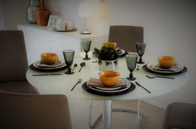 Mesa redonda para el comedor: razones a favor