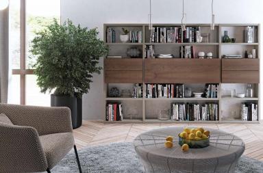 Cómo y dónde colocar una librería en casa