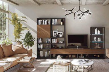 Salón más grande - Muebles modernos de salón